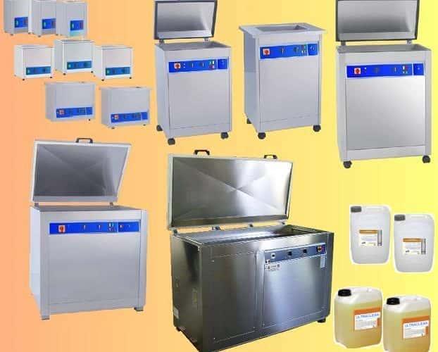 Lavatrice ad ultrasuoni pulsati multifrequenza